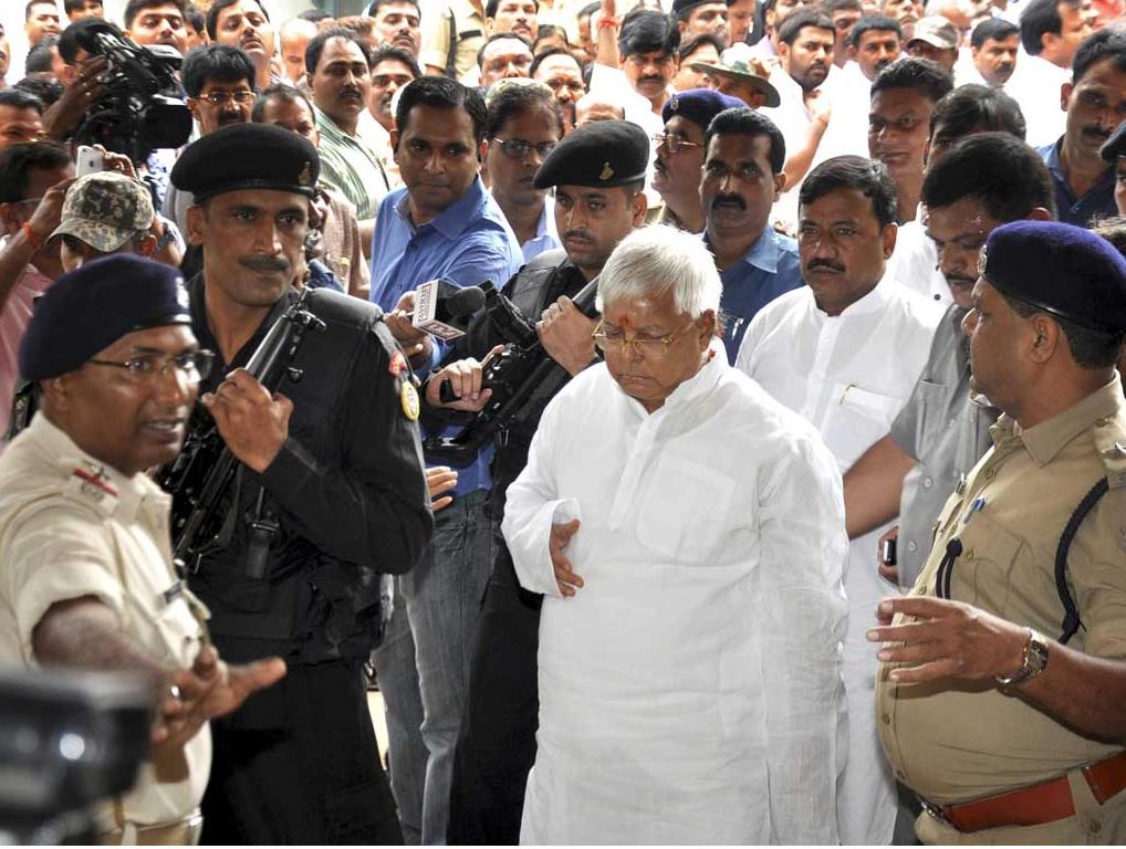 Lalu Prasad Yadav At Ranchi Court