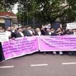 Lawers protest in Telengana