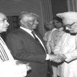 Narasimha Rao with Manmohan Singh PIB pic