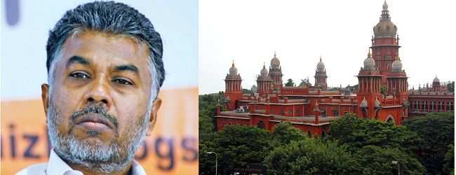 Lead picture: Author Perumal Murugan and Madras High Court