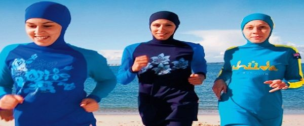Burkinis beached in France