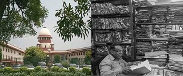 (L-R) Supreme Court. photo (black & white): Prashant Panjiar