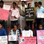 Chhattisgarh journalists protest atrocities on their brethren