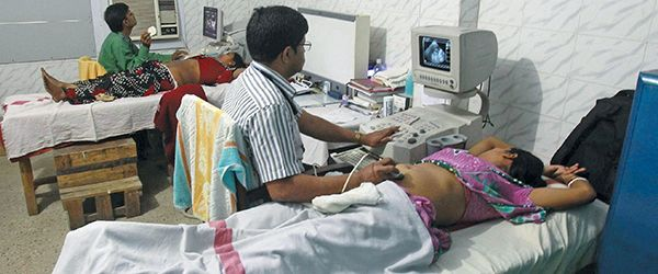 Radiologists are demanding changes in the PCPNDT law. Photo: UNI