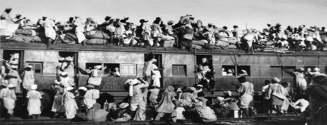 Firoz Bakht Ahmed's mother would describe the gory sight of trains from both side of the border during Partition. Photo: YouTube