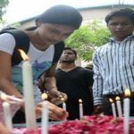 Silent protests in Maharashtra over the killing of a 14-year-old girl in Kopardi village in Ahmednagar