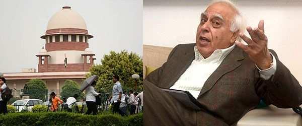 Supreme Court; Kapil Sibal