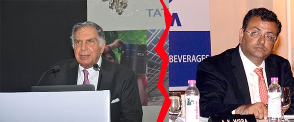 (L-R) Ratan Tata. Photo: UNI, Cyrus Mistry. Photo: UNI (1)