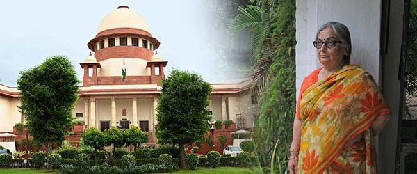 (L-R) Supreme Court; Neelam Katara persisted with the case despite tremendous pressure from various quarters. Photo: Bhavana Gaur