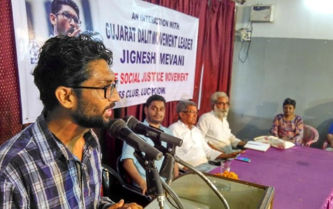 Jignesh Mewani is coordinating the Dalit offensive against the Gujarat government