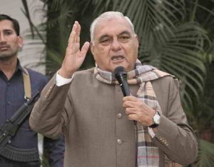 Former Haryana CM Bhupinder Singh Hooda. Photo: UNI