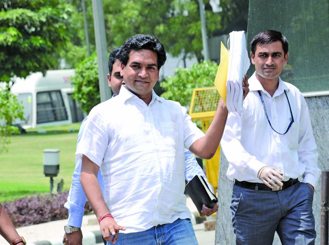 Kejriwal has dismissed those who don't toe his line. Kapil Mishra is a prime example. Photo: UNI