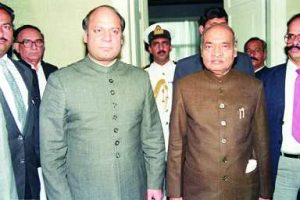 Rao met Prime Minister Nawaz Sharif on several occasions despite Pakistan's effort to sabotage chances of peace in the Valley. Photo: M. Shylla
