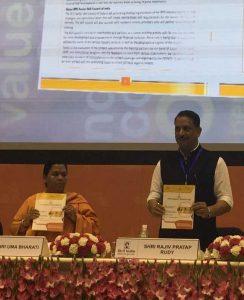 Uma Bharti and Rajiv Pratap Rudy