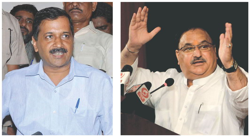 Medical malpractice may be a serious issue but it loses focus when politicians like Union Health Minister JP Nadda (right) and Delhi CM Arvind Kejriwal resort to populism to penalise hospitals