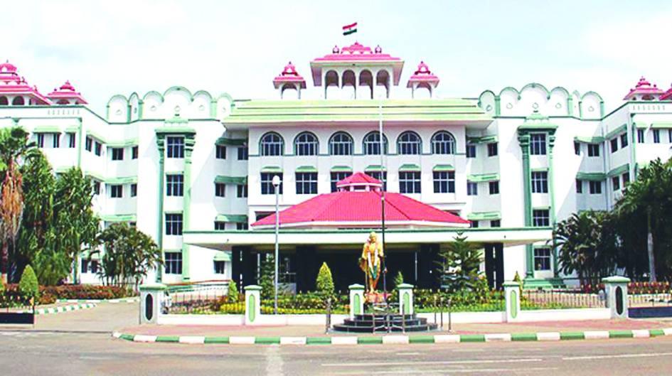 The Madurai bench of the Madras High Court. Twitter.com