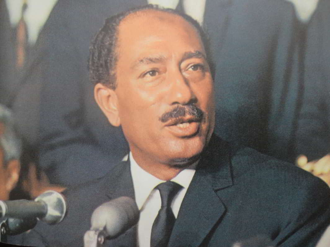 IN MARKED CONTRAST: Muhammad Anwar el-Sadat, the visionary president who put Egypt on the path of peace and progress, was assassinated in 1981