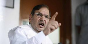 JD (U) chief Sharad Yadav