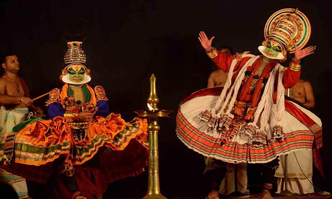 BEAUTY IN MOTION: A Kathakali performance in connection with Onam celebrations in Thiruvananthapuram, UNI
