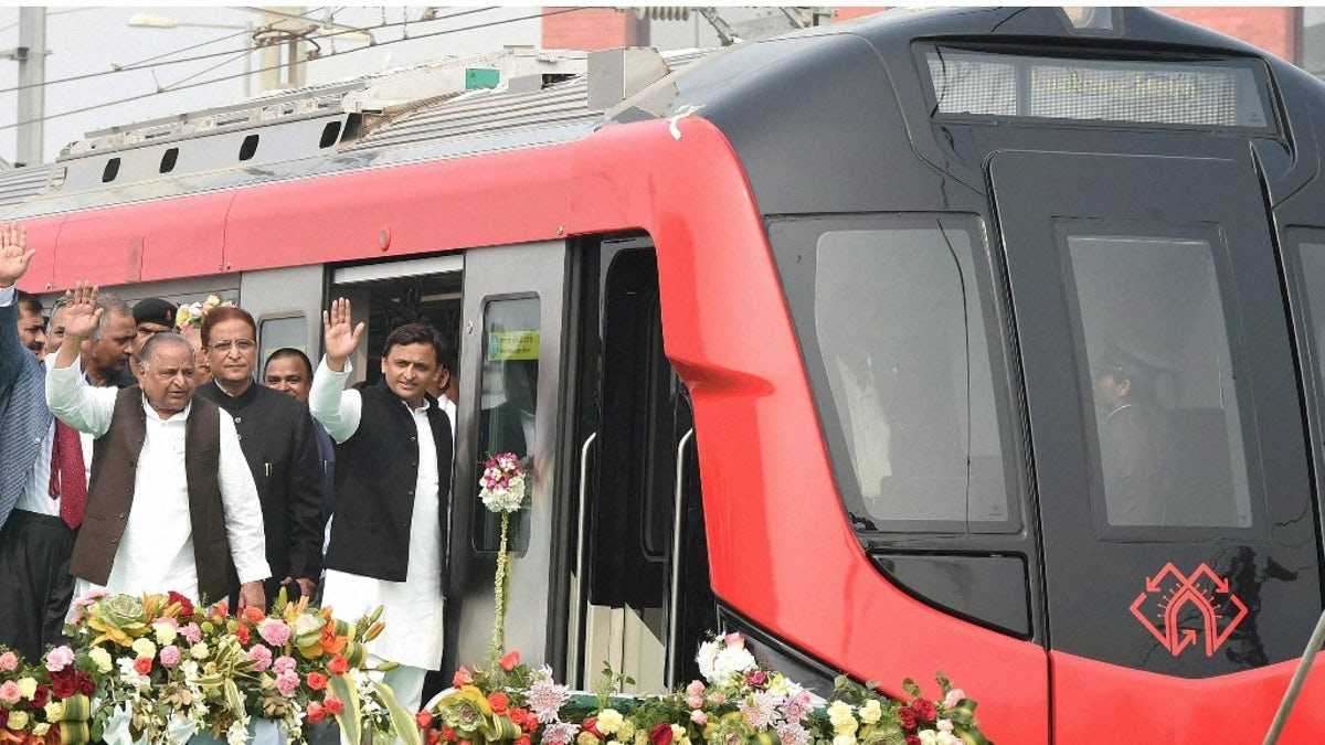 Lucknow Metro inaugural