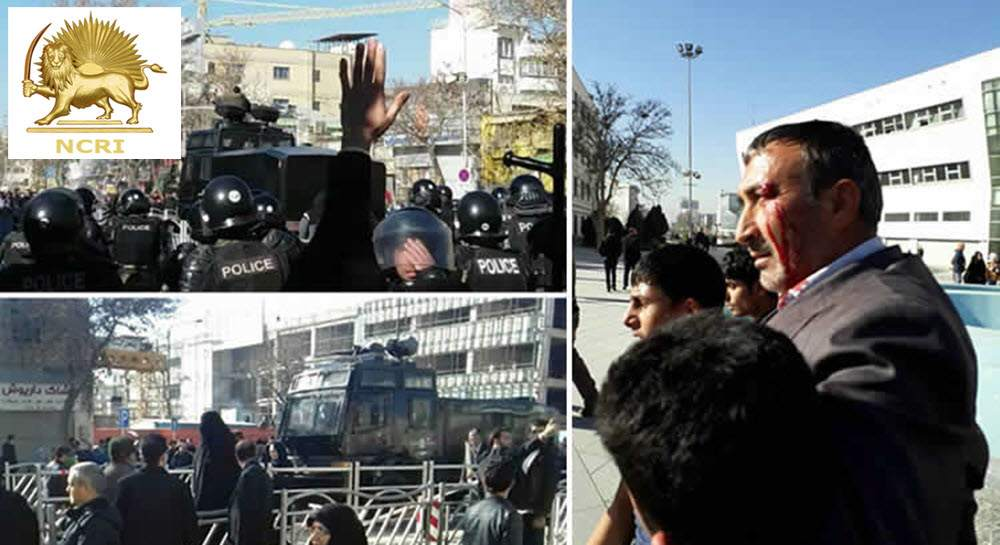 Pro and anti-government protests in Tehran and other cities -