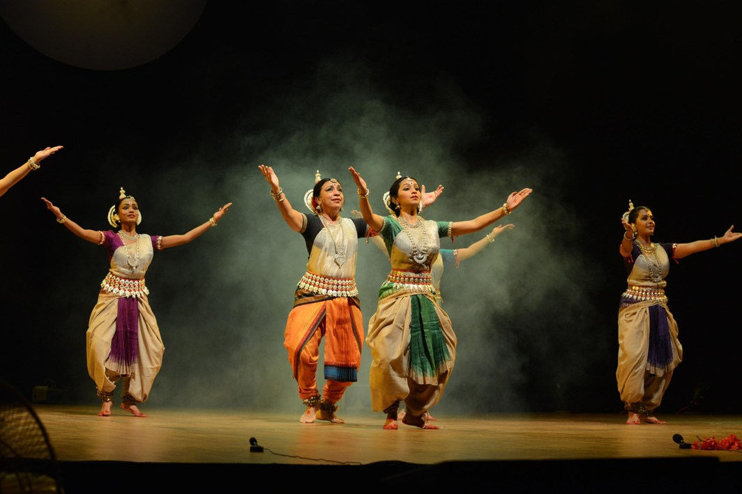 GRACE AND GRANDEUR: An Odissi dance performance at the Nishagandhi Dance Festival in Thiruvananthapuram, UNI