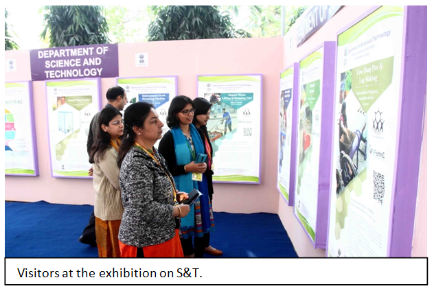 An exhibition to create public awareness on science and technology