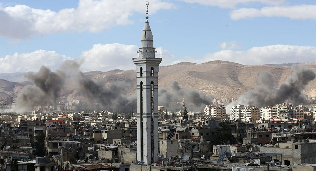 Syrian forces clear 90 per cent of Eastern Ghouta