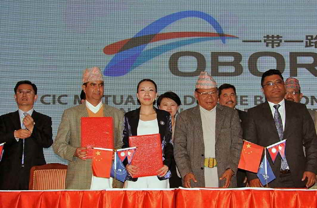 "Nepal become part of ""One Belt One Road"" of China"