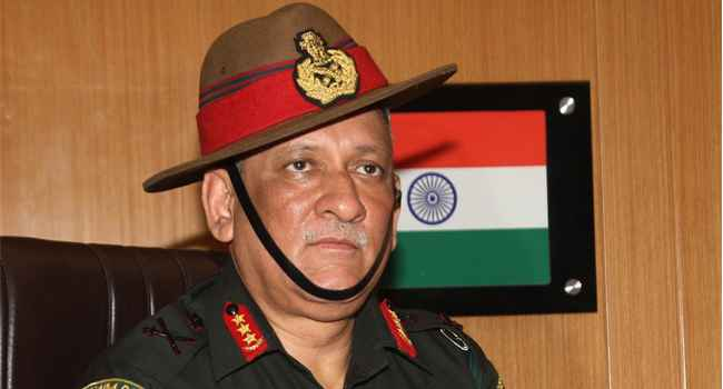 bipin rawat army chief