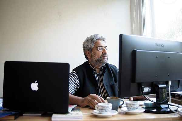 OLD SCHOOL: Siddharth Varadarajan, founding editor of The Wire, says his site won't bend to government pressure